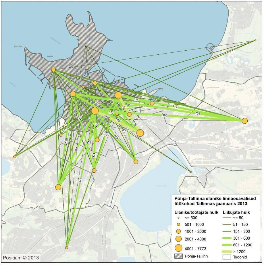 Põhja-Tallinna liikuvus